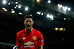 Marcus Rashford of Manchester United reacts in frustration during the UEFA Europa League Quarter Final 2nd Leg match at Old Trafford, Manchester. Picture date: April 20th, 2017. Pic credit should read: Matt McNulty/Sportimage