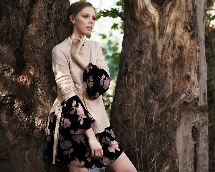 Sunday Mail Fashion with MIrella , Winter Kints on location at Harndorf . Photo: Nick Clayton
