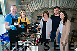 Thomas Ashe, Eileen Ashe, Joan Sheehy Ashe, Sean Murphy and Rachel, Sheehy, all from Dingle, pictured at the Dingle Food Festival on Saturday afternoon last.