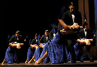 Dancers compete in the Tango Dancing Tournament during the XI International Tango Festival in Medell