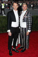"""NEW YORK CITY, NY, USA - MAY 05: Neil Patrick Harris, David Burtka at the """"Charles James: Beyond Fashion"""" Costume Institute Gala held at the Metropolitan Museum of Art on May 5, 2014 in New York City, New York, United States. (Photo by Xavier Collin/Celebrity Monitor)"""