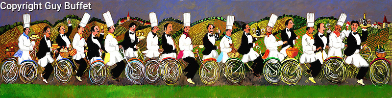 &quot;Gourmet Tour of Burgundy&quot;<br />