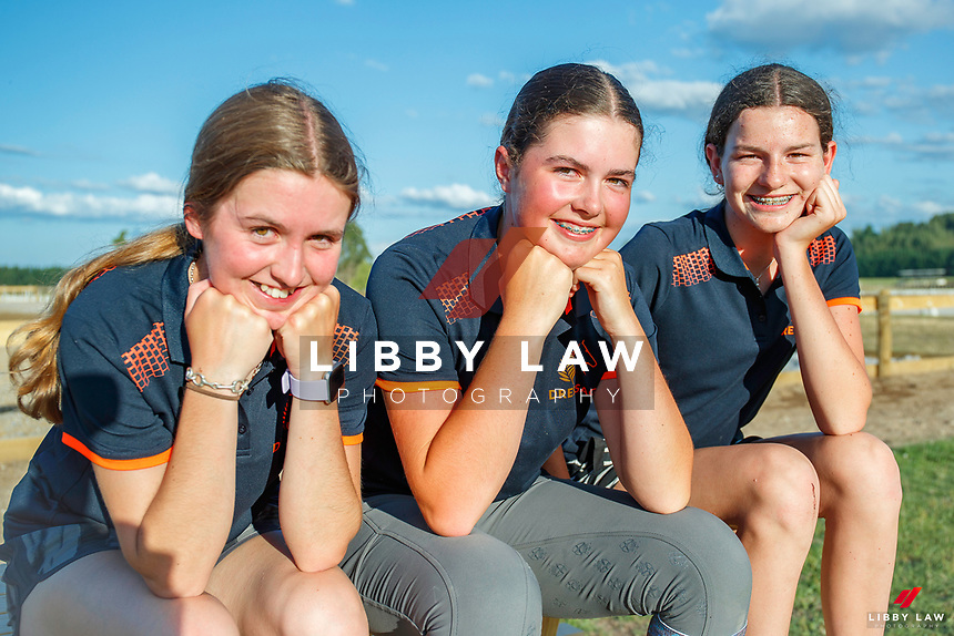 2020 NZL-Dressage NZ Equestrian Entries Youth Festival. NEC Taupo. Friday 24 January. Copyright Photo: Libby Law Photography