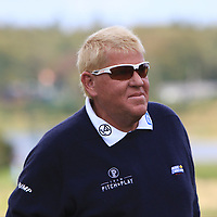 John Daly (USA) on the 16th green during Round 4 of Made in Denmark at Himmerland Golf &amp; Spa Resort, Farso, Denmark. 27/08/2017<br /> Picture: Golffile | Thos Caffrey<br /> <br /> All photo usage must carry mandatory copyright credit     (&copy; Golffile | Thos Caffrey)