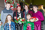 Keith and Shauna Myers, Maty Tangney, Mary and Dara Myers and Anna O'Sullivan Rouse enjoying the Firies Christmas Craft fair on Sunday