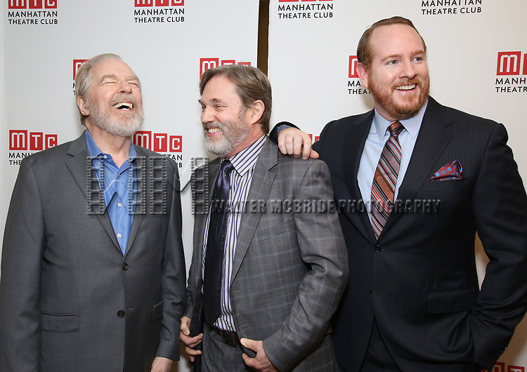 Michael McKean, Richard Thomas and Darren Goldsteinattending the Broadway Opening Night After Party for 'The Little Foxes' at the Copacabana on April 19, 2017 in New York City.
