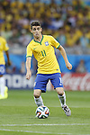Oscar (BRA), JULY 8, 2014 - Football / Soccer : FIFA World Cup Brazil 2014 Semi Final match between Brazil and Germany at the Estadio Mineirao in Belo Horizonte, Brazil. (Photo by AFLO) [3604]