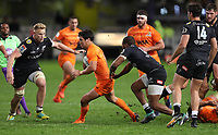 DURBAN, SOUTH AFRICA - JULY 14: Matias Moroni of the Jaguares during the Super Rugby match between Cell C Sharks and Jaguares at Jonsson Kings Park on July 14, 2018 in Durban, South Africa. Photo: Steve Haag / stevehaagsports.com