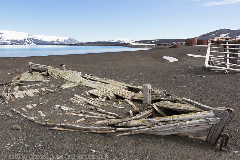 Whaler's Bay, Deception Island, Antarctic peninsula