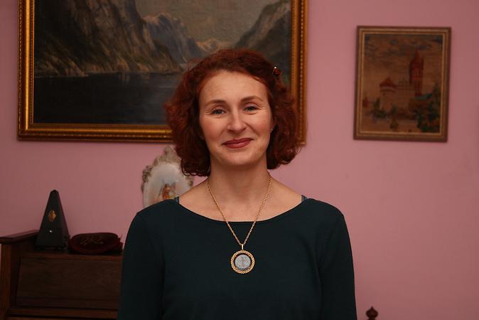 Natalja Bytschenko und ihre Freunde haben das Alte Haus als Museum eingerichtet. Amalien eine Stadtteil im alten Königsberg, heute Kaliningrad.