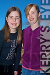 Enjoying the Gathering Festival in The Gleneagle on Saturday were Anna O'Connor and Ciara O'Shea, Killarney.......