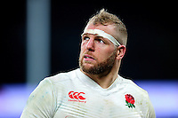 James Haskell of England looks on after the match. RBS Six Nations match between England and Wales on March 12, 2016 at Twickenham Stadium in London, England. Photo by: Patrick Khachfe / Onside Images