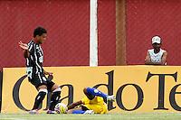GUARULHOS, SP, 04 JANEIRO 2011 - COPA SAO PAULO DE FUTEBOL JUNIOR 2012 - <br /> Lance da partida entre as equipes do Figueirense  x Nacional - AM realizada no Est&aacute;dio Municipal Ant&ocirc;nio Soares de Oliveira Guarulhos (SP), v&aacute;lida pela 1&ordf; Rodada do Grupo X da Copa S&atilde;o Paulo de Futebol Junior 2012, nesta quarta-feira, 04. (FOTO: ALE VIANNA - NEWS FREE)