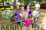 Enjoying the Ardfert Medieval Festival celebrating the feast of St Brendan on Sunday were Rachel O'Connor, Freyja Walsh, Megan O'Connor, Lilly Novak and Shane O'Connor