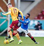 15.12.2019 Motherwell v Rangers: Jermain Defoe and James Scott