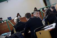 Roma, 24 Novembre 2015<br /> Paolo Ielo, pubblico ministero.<br /> Aula bunker di Rebibbia<br /> Quarta udienza del processo Mafia Capitale,