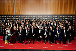 Goya Awards winners family photo attends to 33rd Goya Awards at Fibes - Conference and Exhibition  in Seville, Spain. February 03, 2019. (ALTERPHOTOS/A. Perez Meca)