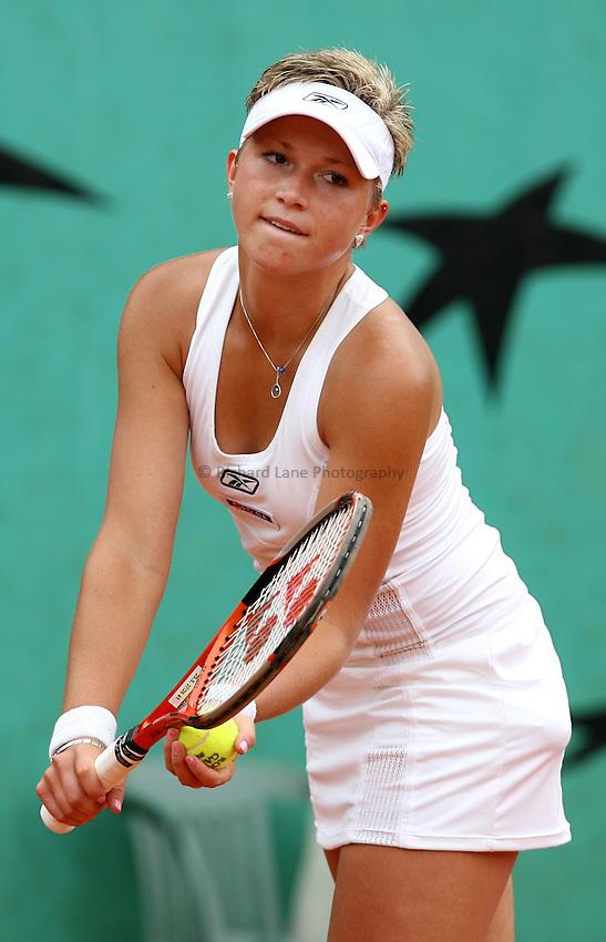 Photo: Maarten Straetemans..French Open, Roland Garros 2007. 30/05/2007..Michaella Krajicek during her 3rd round win.