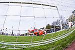 Uppsala 2014-05-07 Fotboll Superettan IK Sirius - &Ouml;stersunds FK :  <br /> Sirius Stefan Silva g&ouml;r 1-0 p&aring; straff bakom &Ouml;stersunds m&aring;lvakt Connor Ripley som deppar<br /> (Foto: Kenta J&ouml;nsson) Nyckelord:  Superettan Sirius IKS &Ouml;stersund &Ouml;FK jubel gl&auml;dje lycka glad happy remote remotekamera depp besviken besvikelse sorg ledsen deppig nedst&auml;md uppgiven sad disappointment disappointed dejected