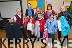Its fashion time at Barraduff National School where the final preparations are being put in place for the annual fashion show taking place on Saturday, November 22nd. <br /> Front L-R Maura O'Sullivan, Brian Murphy and Roisin Daly. <br /> Back L-R Joshua O'Sullivan, principal Claire O'Halloran, Mary, Noreen and Maria O'Sullivan.