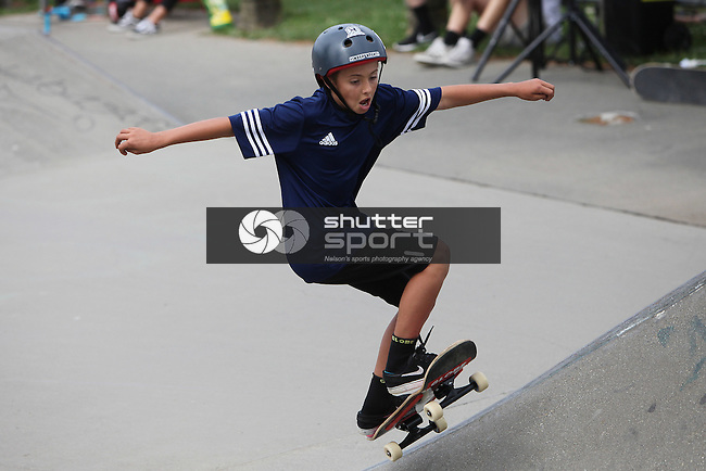 NELSON, NEW ZEALAND - February 18: Richmond Skate Park  Sport Tasman Tour on February 18 2017 in Nelson, New Zealand. (Photo by: Evan Barnes Shuttersport Limited)