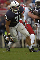 16 September 2006:  Penn State LB Paul Posluszny (31)..The Penn State Nittany Lions defeated the Youngstown State Penguins 37-3 September 16, 2006 at Beaver Stadium in State College, PA..