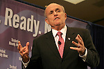 Gary Wilcox/StaffÉ-01/21/08ÉRepublican presidential candidate Rudy Giuliani spoke at the Sawgrass Marriott Convention Center, in Ponte Vedra last Monday.(01/21/08).....