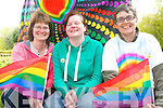 Kerry's first every festival of pride will take place next weekend with a packed programme of events to celebrate the LGBT community in Kerry. .L-R Audra Epper Bartoszko (secretary of the organising committee), Margaret O'Donoghue (chairman) and Martina O'Brien (committee member).