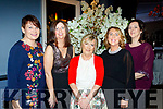 Enjoying the Bon Secure hospital, Tralee Foundation night in the Ballygarry House Hotel, Tralee last Friday were L-R Ann Moynihan, Mary O'Leary, Helen McCarthy, Mary Roche with Paula Stack.