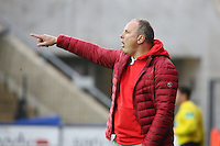 Trainer Oliver REck Fortuna) - FSV Frankfurt vs. Fortuna Düsseldorf, Frankfurter Volksbank Stadion
