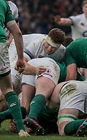 Twickenham, United Kingdom.   Natwest 6 Nations : England vs Ireland. Sam Simmonds, at the  RFU Stadium, Twickenham, England, <br /> <br /> Saturday   17.03.18<br /> <br /> [Mandatory Credit; Peter Spurrier/Intersport-images]