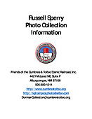 Russell Sperry Photo Collection Information PDF file containing all of the following JPG pages
