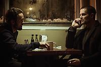 Garret Dillahunt & Brendan Fletcher<br /> Braven (2018)<br /> *Filmstill - Editorial Use Only*<br /> CAP/RFS<br /> Image supplied by Capital Pictures