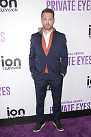 NEW YORK, NY - FEBRUARY 8: Jason Priestley  at  ION Television Private Eyes Launch Event at  Cedar Lake NYC  on February 8, 2018 in New York City. <br /> CAP/MPI99<br /> &copy;MPI99/Capital Pictures