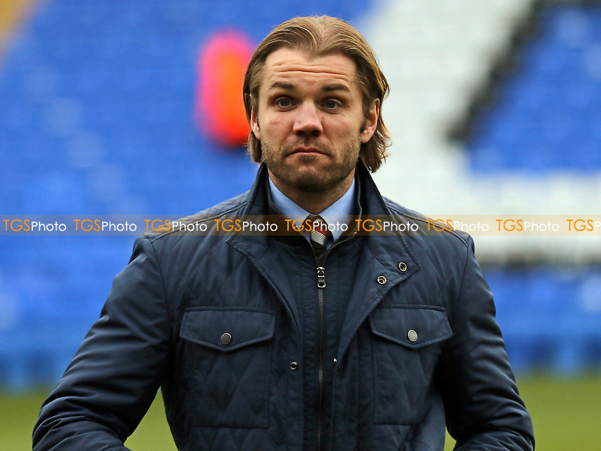 MK Dons Manager, Robbie Neilson during Peterborough United vs MK Dons, Sky Bet EFL League 1 Football at London Road on 28th January 2017