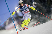 8th February 2019, Are, Sweden; Alpine skiing: Combination, ladies: Meike Pfister from Germany on the slalom course.