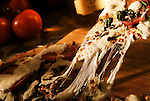 Pizza Cheese Stretch<br /> <br /> Food Styling by Chef Chris Koch