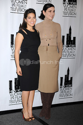 America Ferrera and Julianna Margulies at the New York Women in Film & Television 29th Annual Muse Awards at the Hilton Hotel  in New York City. December 9, 2009. Credit: Dennis Van Tine/MediaPunch