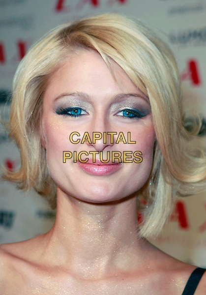 PARIS HILTON.Paris Hilton and Nicky Hilton host LAX Nightclub's New Year's Eve Bash held at the LUXOR Hotel and Casino Las Vegas, Las Vegas, Nevada, USA, 31 December, 2007..portrait headshot.CAP/ADM/MJT.©MJT/AdMedia/Capital Pictures.