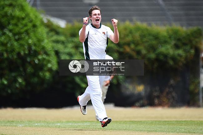 NELSON, NEW ZEALAND - DECEMBER 9: Premier Mens Cricket. Stoke-Nayland v Wamiea Toi Toi Utd at Marsden Rec. Saturday 9 December 2017. Nelson, New Zealand. (Photo by: Chris Symes/Shuttersport Limited)