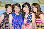 Ciara O'Donoghue, Katie Horgan, Aine Barrett from Listry  Youth Club who performed in the Mid Kerry Youth club talent show in Keel on Friday night..