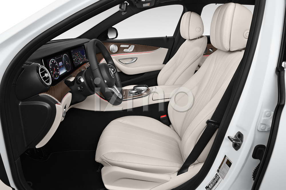 Front seat view of a 2020 Mercedes Benz E-Class  E450 5 Door Wagon front seat car photos