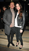 Leo Gregory and Megan Maczko at the &quot;The Ninth Cloud&quot; film screening and Q&amp;A, Prince Charles cinema, Queen Leicester Place, London, England, UK, on Monday 12 February 2018.<br /> CAP/CAN<br /> &copy;CAN/Capital Pictures