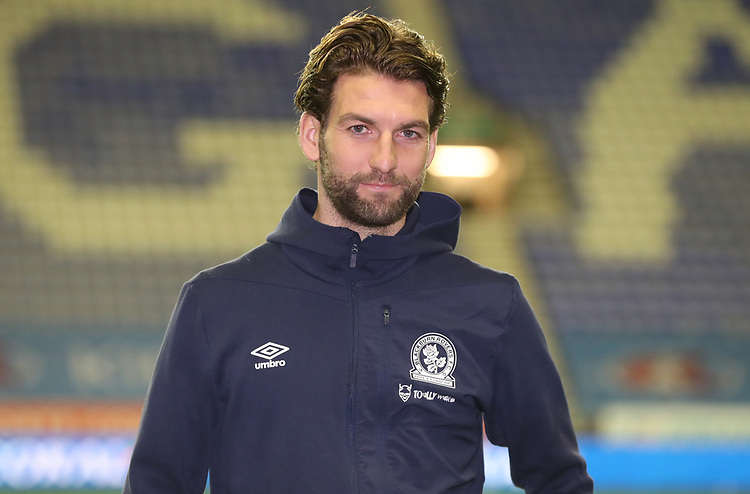 Blackburn Rovers' Charlie Mulgrew<br /> <br /> Photographer Rachel Holborn/CameraSport<br /> <br /> The EFL Sky Bet Championship - Wigan Athletic v Blackburn Rovers - Wednesday 28th November 2018 - DW Stadium - Wigan<br /> <br /> World Copyright © 2018 CameraSport. All rights reserved. 43 Linden Ave. Countesthorpe. Leicester. England. LE8 5PG - Tel: +44 (0) 116 277 4147 - admin@camerasport.com - www.camerasport.com