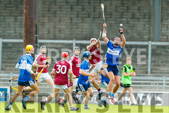 Anthony Fealy Causeway in action against Fionán Mackessy St Brendans during the Senior Kerry County Hurling Semi Finals between Causeway v Brendans at Austin Stack park on Saturday last.
