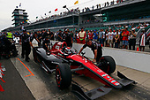 Verizon IndyCar Series<br /> Indianapolis 500 Qualifying<br /> Indianapolis Motor Speedway, Indianapolis, IN USA<br /> Saturday 20 May 2017<br /> Mikhail Aleshin, Schmidt Peterson Motorsports Honda<br /> World Copyright: Phillip Abbott<br /> LAT Images<br /> ref: Digital Image abbott_IndyQ-0517_19661