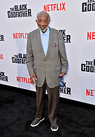 "LOS ANGELES, USA. June 04, 2019: Clarence Avant at the premiere for ""The Black Godfather"" at Paramount Theatre.<br /> Picture: Paul Smith/Featureflash"