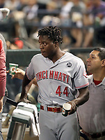 Aristides Aquino - 2019 Cincinnati Reds (Bill Mitchell)