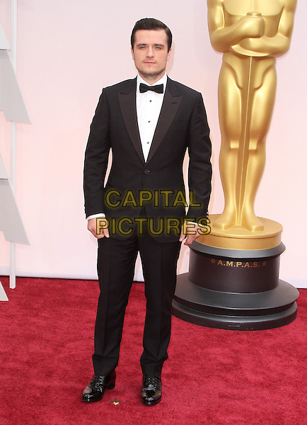 22 February 2015 - Hollywood, California - Josh Hutcherson. 87th Annual Academy Awards presented by the Academy of Motion Picture Arts and Sciences held at the Dolby Theatre. <br /> CAP/ADM<br /> &copy;AdMedia/Capital Pictures Oscars