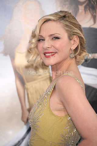 Kim Cattrall at the film premiere of 'Sex and the City 2' at Radio City Music Hall in New York City. May 24, 2010.Credit: Dennis Van Tine/MediaPunch
